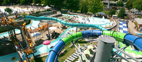 Best quality water park slides supplies