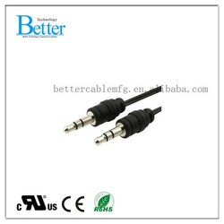 Super quality manufacture 30 ft 3 rca audio video av cable