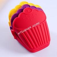 NEW Kitchen Cooking Cute ice cream cupcake shape Insulated Non-slip Gloves Microwave Oven No-slip Mitt