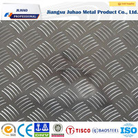 HOT SALE & COLOR COATED diamond embossed aluminum roofing sheet/Plate/Board