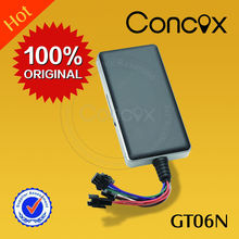 Free online gps tracking system small car gps tracker with sos button/high sensitive gps chip Concox GT06N