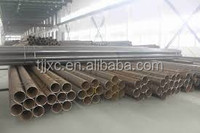 ERW Q195 Black Welded Round Steel Pipe for Furniture pipe mild steel pipes 33