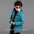 Moderne, personnalisable à long manteau d'hiver pour les garçons