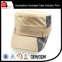 2015 alibaba 10856 cotton twill bright color army cap earflaps