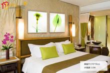 Alibaba express pop item flower oil painting decor wall art design