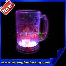 2015 cool LED clorful flashing beer mug light mug for party or bar and wedding