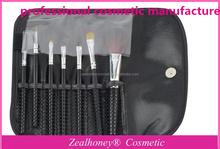 free shipping 1set 7 pcs Professional Cosmetic Makeup Brush Brushes Set for Face/Eye/Lip Wholesale