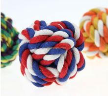2015 china supplier best selling cotton pet ball toy
