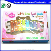 Good kids new product wooden multifunction knocking xylophone for kids wooden gift