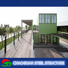 colorful prefabricated container house for sale/ luxury prefab house container