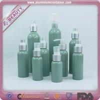 60 ml aluminum empty bottle diy cosmetic bottle with pump sprayer