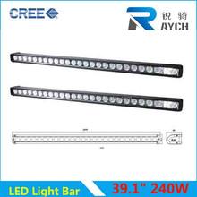Hot new products waterproof 12v led light bar 260w for 2014 auto part led light bar for volkswagen amarok led light bar