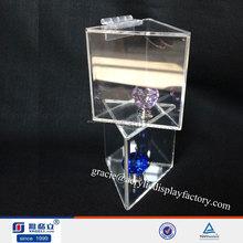 16 anos de haute qualité gros loupe acrylique boîte de plexiglas
