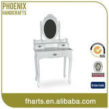 Factory Price Modern Black Mirrored Dressing Tables