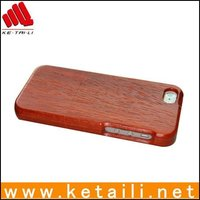 High quality natural wood wooden phone case for iphone 4 4s