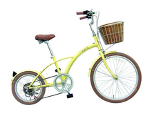 24 Inch City Bike Colorful Big&Small Wheel City Bicycle