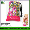 Soft Heat Transfer Printing Wrist Cell Phone Pouch