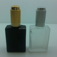 Cheap price selling 30ml 50ml frosted glass perfume bottle
