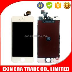 Good promotion sale in bulk lcd repair parts original price For iPhone 5 screen display glass 4Inch