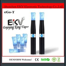 2012 newest product fashionable newest hot sale 100% no leaking e cigarette ego-t