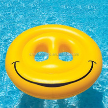 hot-sale inflatable smile ring on sale, inflatable floating toys