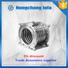 flow temperature pressure compensation reinforcement steel wire metallic expansion joint