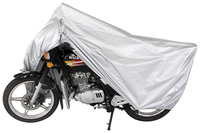 anti UV and high quality oxford 150D soft backing silver 12109 motorcycle cover