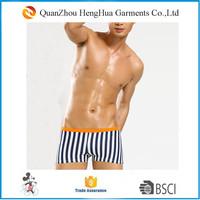 Wholesale mens swimwear Stripe trunks swimming trunks