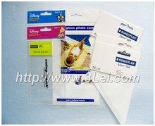 Bopp header bag with colorful printing