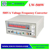LW-500W Single Phase AC Power Source Variable Frequency Power Supply 500VA Voltage Frequency Converter