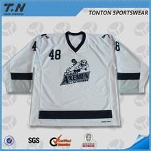 NHL custom v-neck ice hockey jerseys for national leagues
