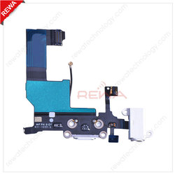 Mobile Parts for Apple iPhone 5 Charger Dock Connector Flex Cable