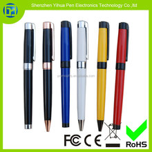 YIHUA OEM metal gel pen set for branded promotion,promotional metal pen gift set