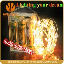 CE Approved Fairy Copper Wire ourdoor patio c7 light strings For Christmas