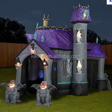 EN14960 party inflatable halloween castle for horrifying fun,inflatable Bouncing jump castle
