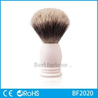 Popular plastic bread brush,bread shaving brush,pure badger wood handle