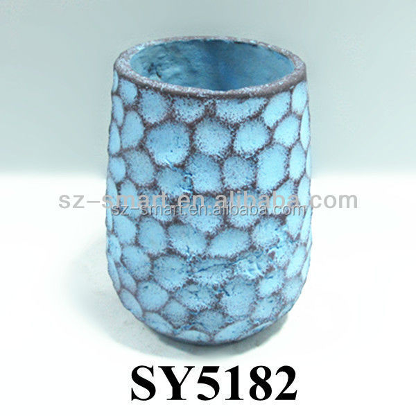 Garden Pots For Sale Planting Pots Cheap Plant Pot Blue Round Flower Pot Bu
