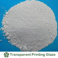 Ceramic Raw Materials Clear Printing Glaze/transparent printing glaze/ ceramic decoration transparent printing glaze