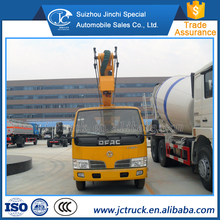 Manual Transmission Type and Diesel Engine small truck mounted aerial work platform truck sale