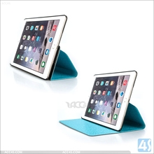 Ultra Slim leather case for ipad Air 2, 360 Degree Rotating leather case For Ipad 6