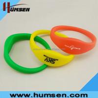 125KHz 13.56Hz Silicone RFID Wristband