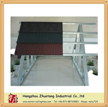 Africa Hot Selling Light Weight flat shingle roof tile