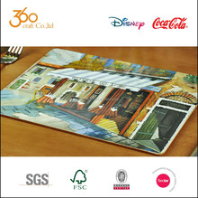 High quality custom restaurant printable paper placemat , tablemat for table decoration