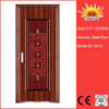 SC-S010 Best Selling Models of Steel Security Doors Entrances House Gate Designs