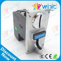 Cpu electronic multi coin mechanism / coin validator / coin mech spare parts for photo kiosk/purikura