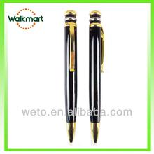 2015 High quantity metal pen/Sunrise Metal twist-action ballpen/black ballpoint pen