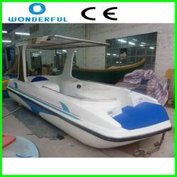 aqua park amusement park rides kids electric boat cheap inflatable boat