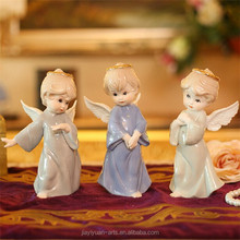 Porcelain Baby Angel Figurine, Fashional Decorative Gifts