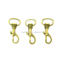 Popular Durable Good Quality Metal Nice Antique Brass Small Snap Hook