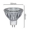Led Bulb Lights Hot 5w gu5.3 MR 16 led 12 volt 5 watt solar garden lamp
